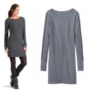 Athleta   Gray Sweater Dress Tunic (B13)